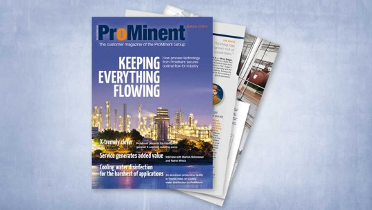ProMinent Customer Magazine