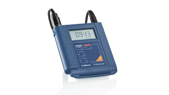 Portable Meter Portamess<sup>®</sup> – Measured Variable Conductivity