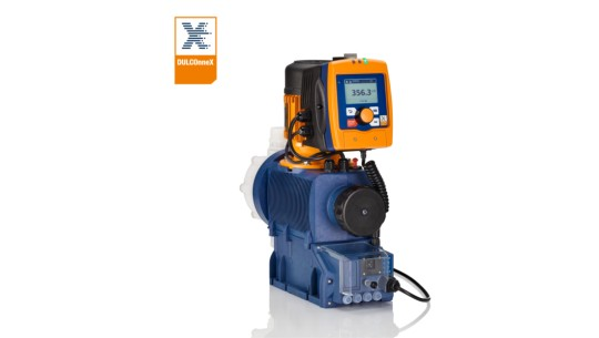 Motor-driven metering pump Sigma X – metering pump for digital fluid management