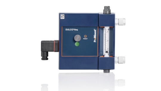 <p>Vacuum Dosing Regulator for Chlorine Gas DULCO<sup>®</sup>Vaq</p>