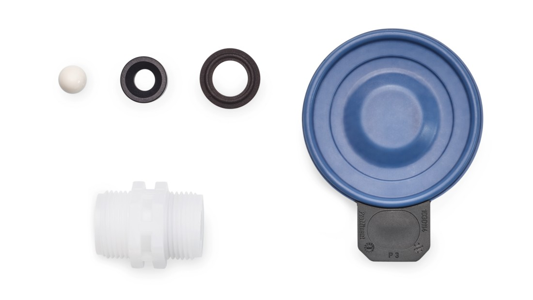 Spare Parts Kits and Spare Diaphragms for Motor-Driven Metering Pump Sigma/ 3 (Basic Type)